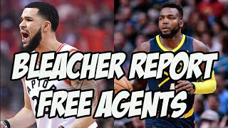 Reacting To Bleacher Report NBA Free Agent Picks For Every Team