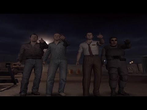 """Knife Only in """"End of the Road"""" Online - Biohazard Outbreak File #2"""