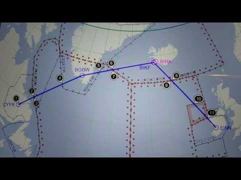 The best way to cross the Atlantic ocean with a small airplane