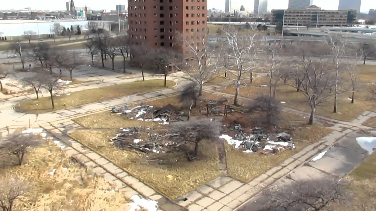 Brewster Housing Projects Detroit Mi Demolished Youtube