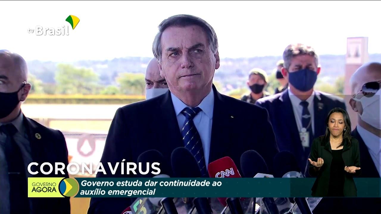 Bolsonaro faz balanço das ações do Governo na pandemia