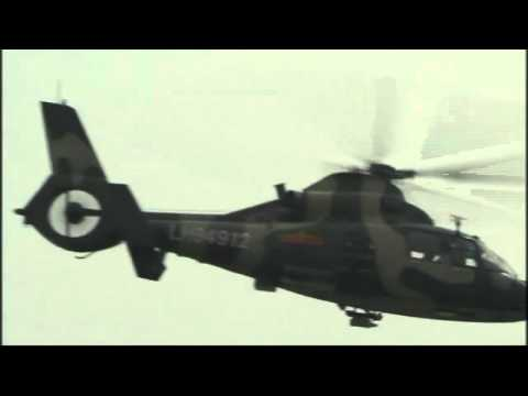 China shows off elite Harbin Z-9 helicopter