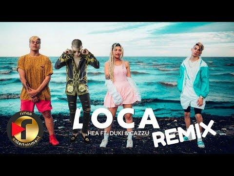 Khea - Loca Remix Ft. Bad Bunny, Duki, Cazzu   Reacción *BAD BUNNY SE EQUIVOCA*