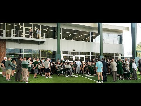 UAB Football Team Tours New Facility