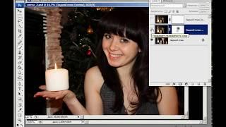 Урок Фотошоп. Эффект пламя горящей свечи. Зинаида Лукьянова