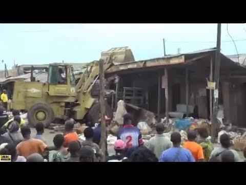 CASSES AU MARCHÉ DEIDO-DOUALA: Les Commerçants en colère...