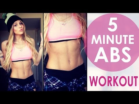 5 Minute Ab Workout to Pharrell Williams -...