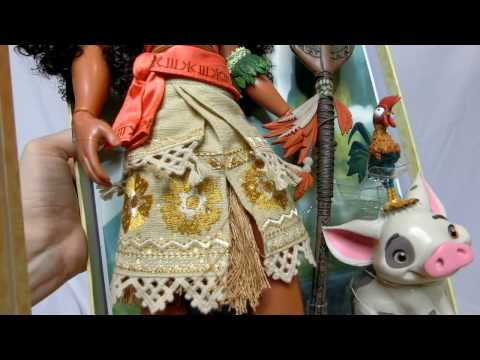 Disney Store Limited Edition Moana Doll Review