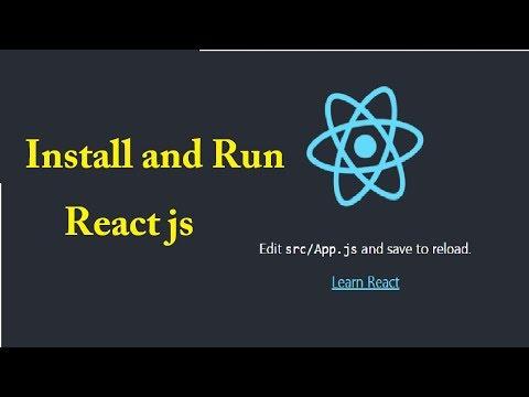 ReactJS Installation Tutorial | ReactJS Installation On Windows | ReactJS Tutorial thumbnail