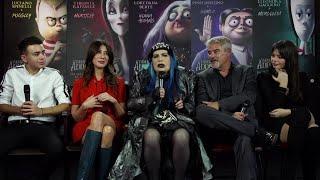 Festa di Roma, 'La famiglia Addams': da Loredana Berté a Pino Insegno le voci del cartoon