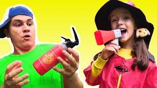 Firefighters Song - Nursery Rhymes & Educational Sons by Ulya