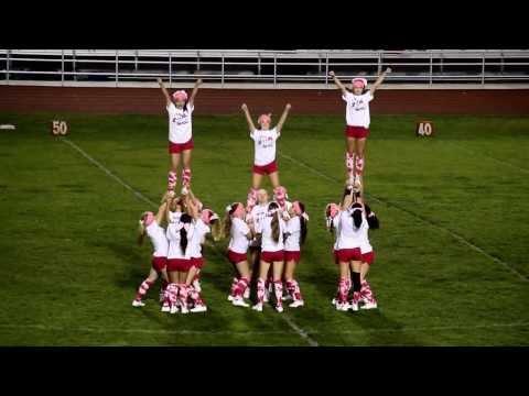 McKinleyville JV Cheer Halftime Routine