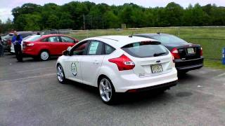 Active Park Assist Demonstrated at Old B...