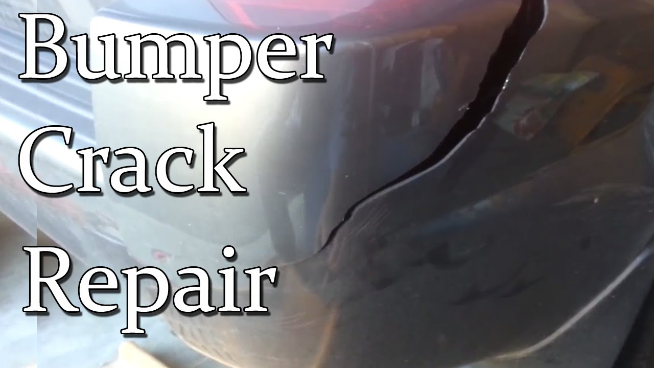 Plastic Bumper Repair How To Repair Damaged Or Cracked Bumper : 2007 Hyundai