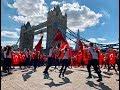 Londra ve İstanbul'da eş zamanlı 15 Temmuz koreografisi