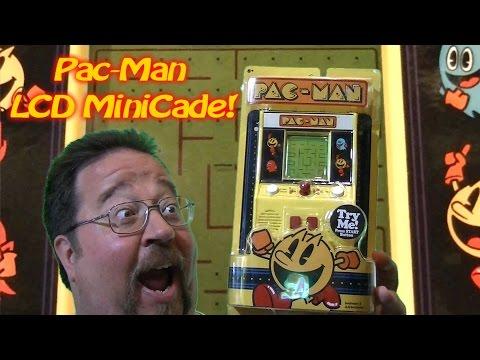 Mini LCD Pac Man Arcade Tabletop!