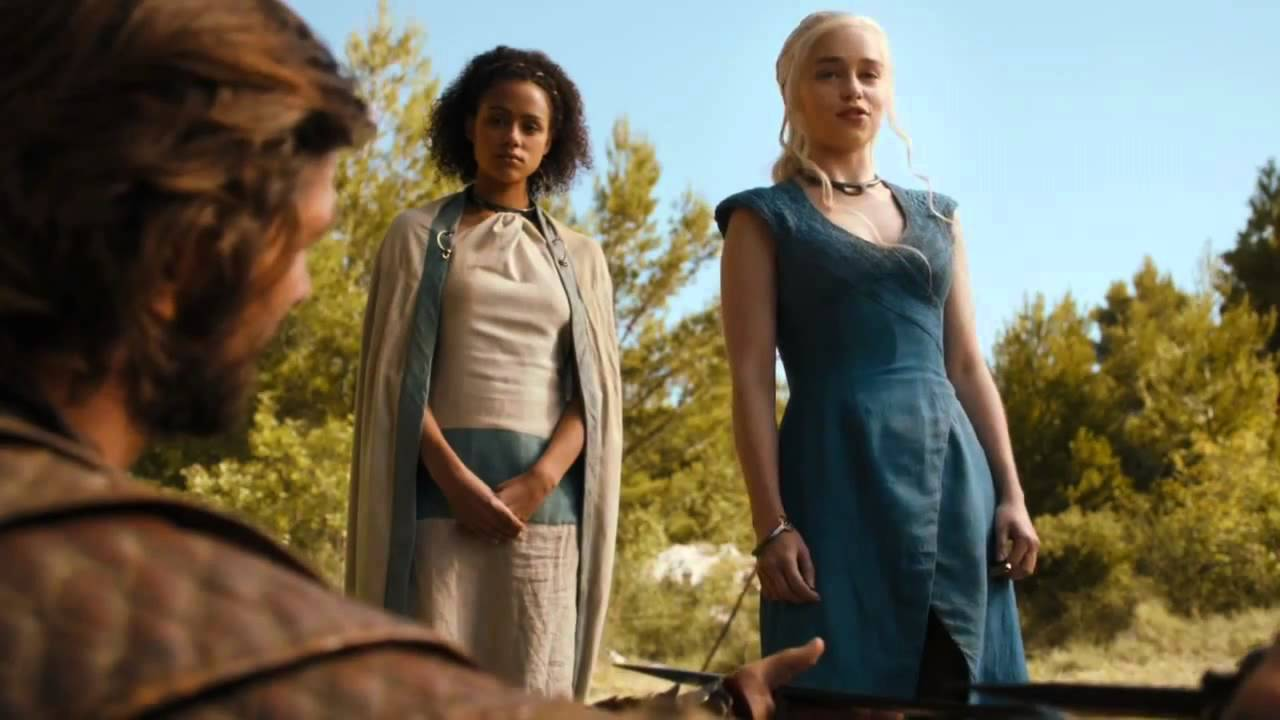 Game of Thrones Season 4 webclip Daario Naharis vs Grey ... Daario Naharis Game Of Thrones Season 4