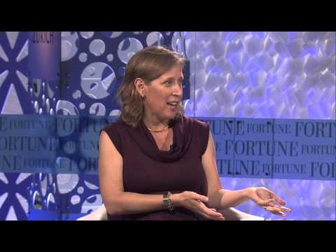 Youtube's new CEO Susan Wojcicki | Full Interview Fortune MPW