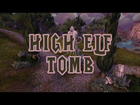 High Elf Tomb - World of Warcraft Legion Music