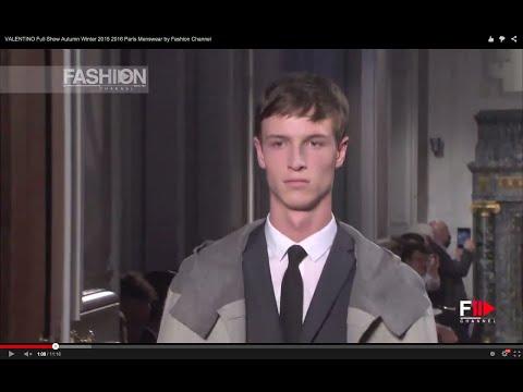 VALENTINO Full Show Autumn Winter 2015 2016 Paris Menswear by Fashion Channel