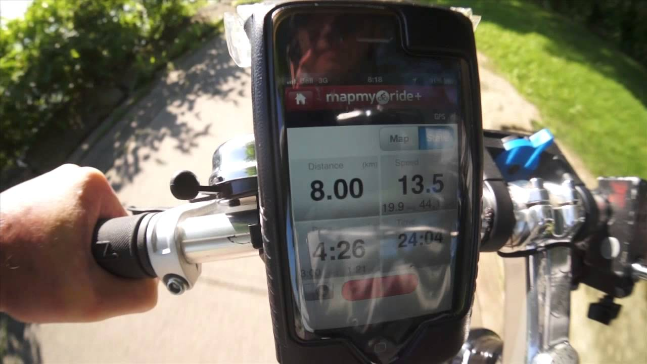 . mapmyride hands on review  youtube