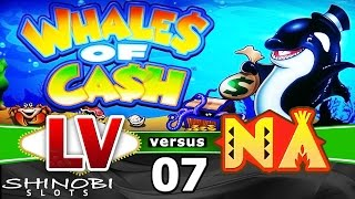 Las Vegas vs Native American Casinos Episode 7: Whales of Cash Slot Machine + Bonus