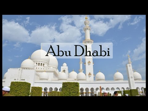 BIGGEST MOSQUE IN THE WORLD  Sheikh Zayed Grand Mosque Abu Dhabi  2017
