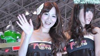 東京オートサロン2013 「TRESURE ONE」ブースのコンパニオン