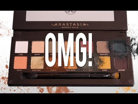 THE TRUTH ABOUT THE ANASTASIA BEVERLY HILLS SUBCULTURE PALETTE!!!!