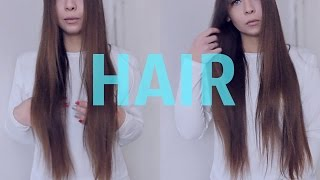 СЕКРЕТ моих длинных волос/Как быстро отрастить волосы?