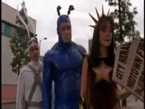 Funny part from 'The Tick ( Live Action Series )'