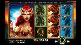 Dragon Kingdom Online Slot - BIG WIN - 2018 New USA No Deposit Casino Bonus