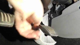 replacement pollen cabin air filter ford focus mk2 vměna pylov filtr