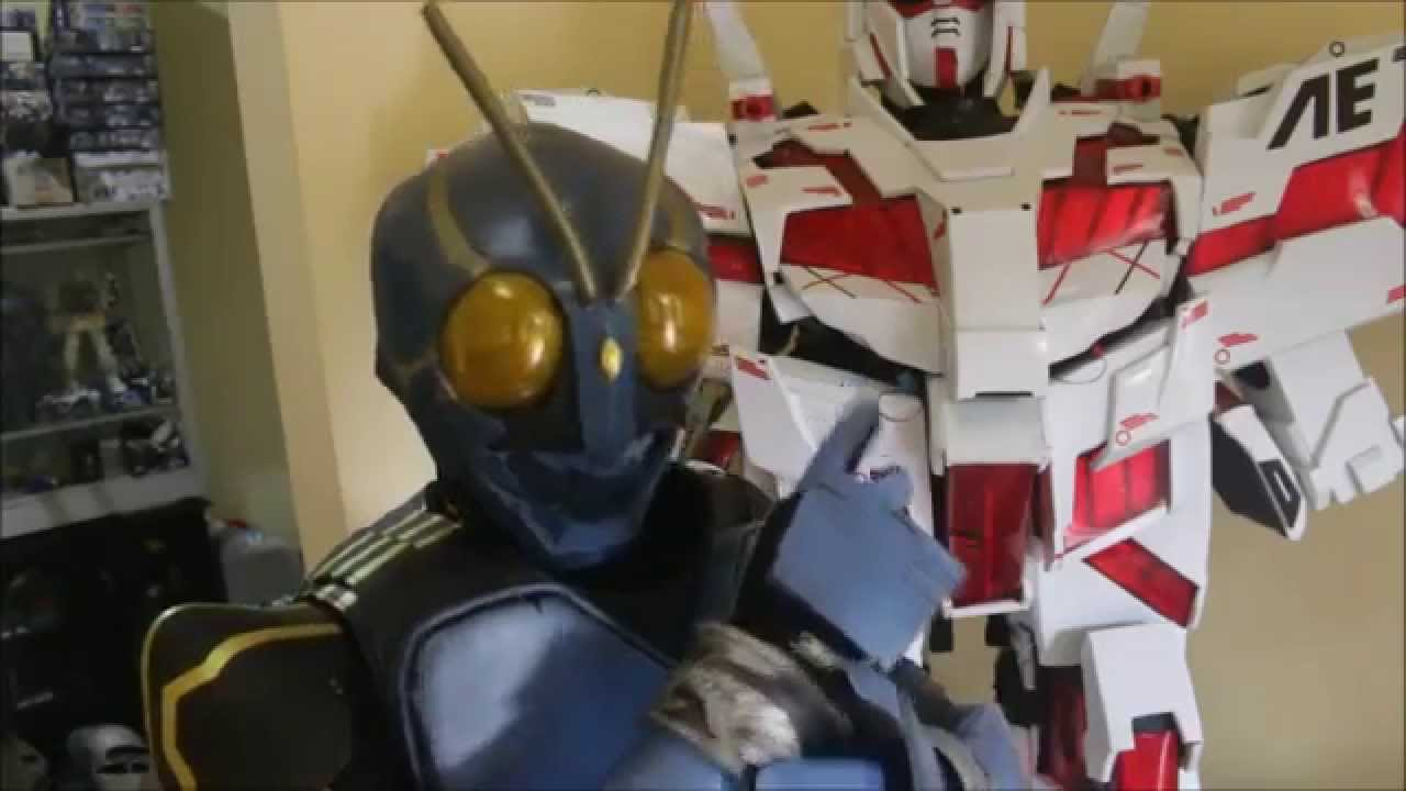 Have kamen rider cosplay tutorial Amazingly!