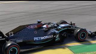 F1 2020 Game Pad ile Hot Lap Deneme...