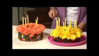 Centerpiece Ideas, Candy Designs With Flowers  Iris Rosin- Tv Show - Eisuv+