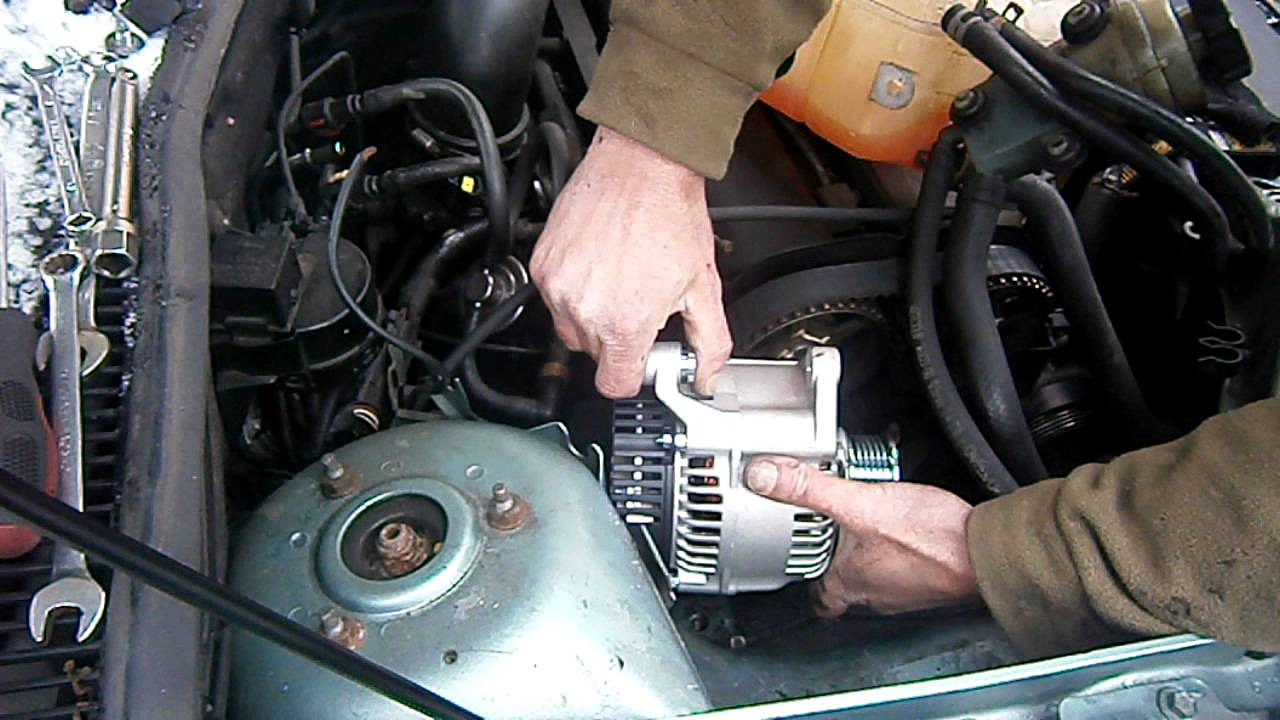 Caravan Water Pump Wiring Diagram Mobile Mechanic Fitting A New Alternator On A Ford Focus