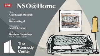 NSO @ Home LIVE • October 4 • Weinreb, Christian, Regni & Cummings