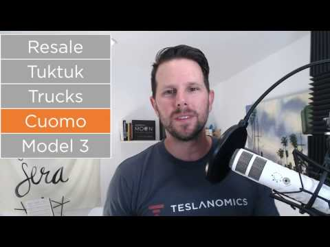 Tesla Model 3 Release Date, Governor Cuomo, Tesla Trucks and