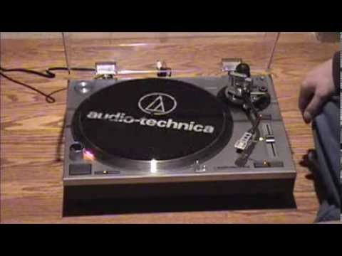 audio technica at lp120 usb turntable youtube. Black Bedroom Furniture Sets. Home Design Ideas
