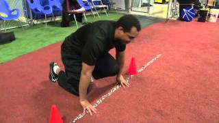 Elite 7 owner and trainer Alex Kube gives tips on how to properly do a 40-yard dash. In part I, he f
