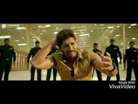 South indian Film Sarrsinodu 2017    Allu Arjun Best Fight Scene
