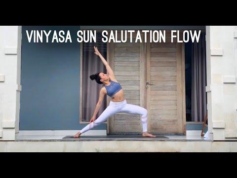 Vinyasa Sun Salutation Yoga Class