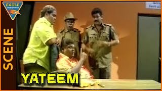 Yateem (Ambi) Movie |  Police Comedy Scene | Aditya | Manya | Shobaraj | Eagle Entertainment
