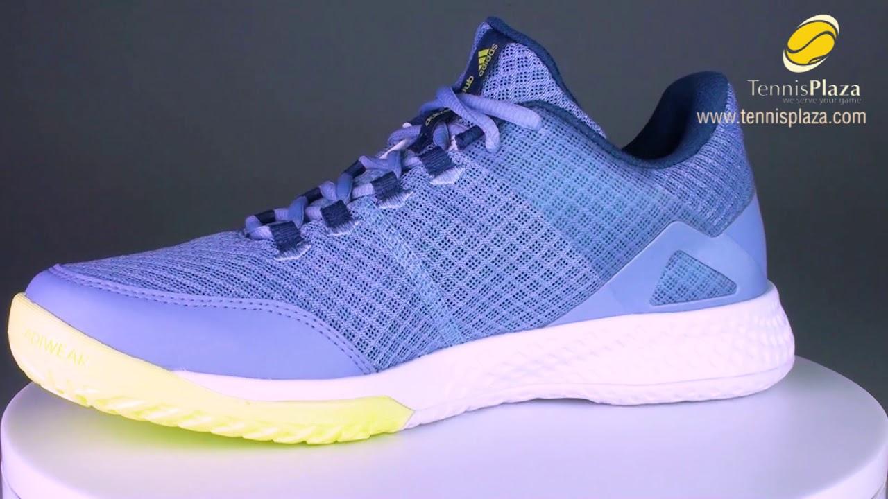 Adidas Adizero Club Tennis Shoe 3D View | Tennis Plaza Review