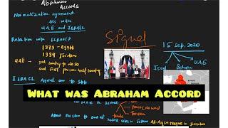 What Is Abraham Accord  Israel Palestine Conflict   अब्राहम समझौता