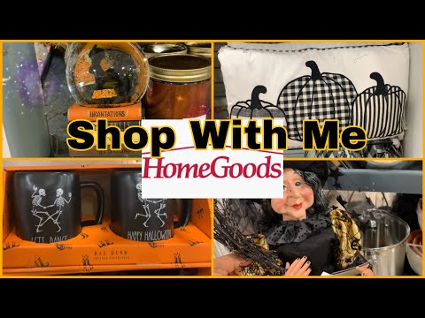 Homegoods Halloween 🎃Fall Decor *August 2019 Shop With Me