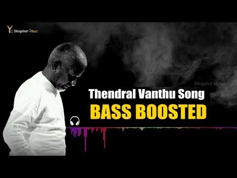 Thendral Vandhu Theendum Pothu - Bass Boosted | Ilayaraja | Slingshot Music