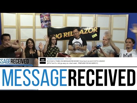 The biggest Message Received ever! - Message Received