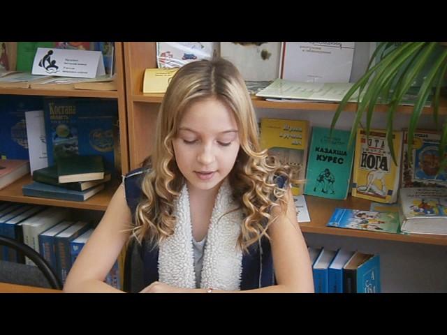 Изображение предпросмотра прочтения – АнгелинаНерез читает отрывок изпроизведения «Кому на Руси жить хорошо» Н.А.Некрасова